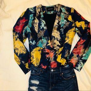 Cropped jacket size M